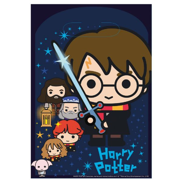 Harry Potter Plastic Loot Bags
